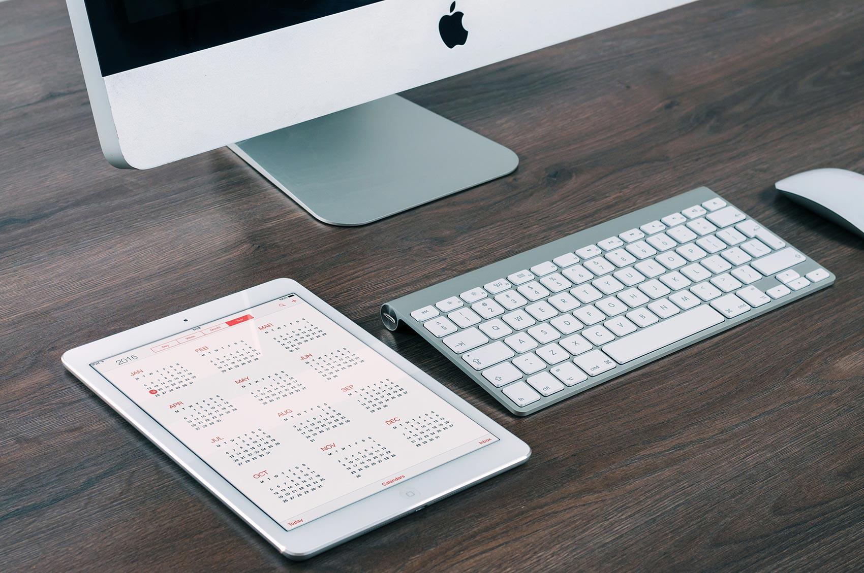 Nettbrett og tastatur